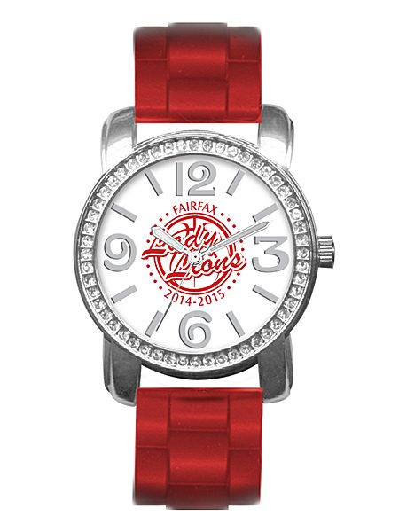 Bling custom logo watch