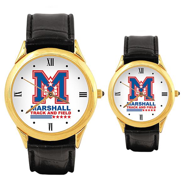 Matching Mens and Womens Custom Logo Watches