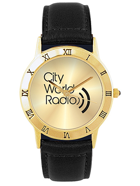 Exclusive Roman Custom Logo Watch