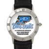 exclusive roman silver tone watch