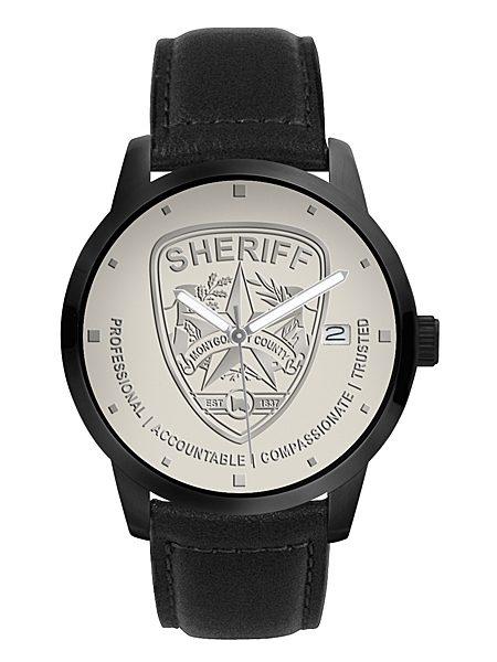 Professional Onyx Logo Watch