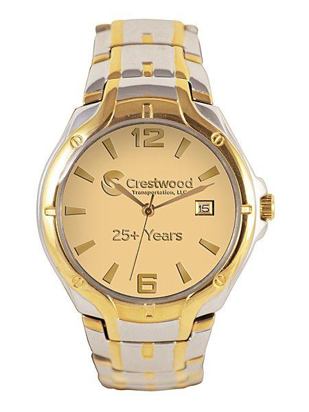 royal Challenger 2-tone Custom Logo Watch