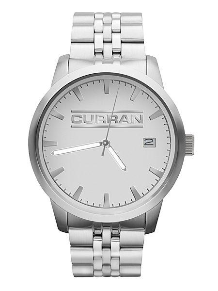 royal Freedom Silver Custom Logo Watch