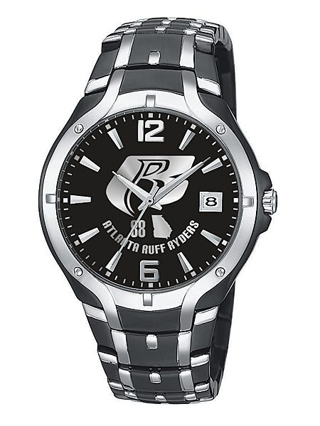 royal midnight silver custom logo watch