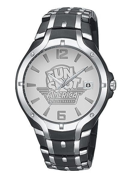 royal Midnight Silver Custom Logo Watch