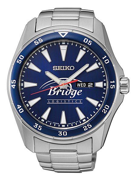 seiko ws-3034 custom logo watch