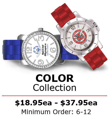 Color Collection Custom Logo Watches