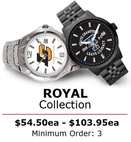 royal collection custom logo watches