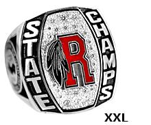 XXL Size Championship Ring