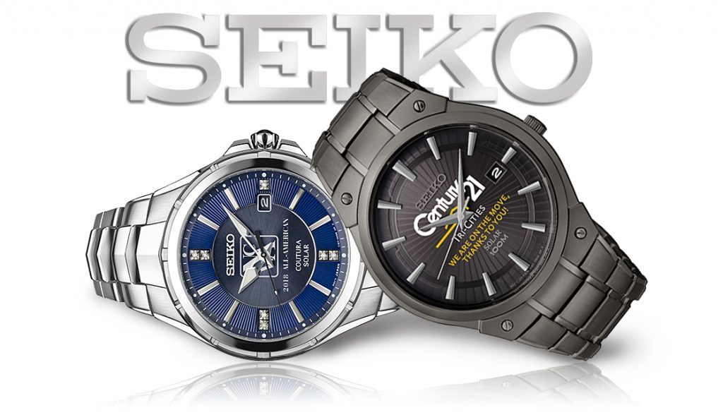 Custom Logo Seiko Watches from Smi Awards