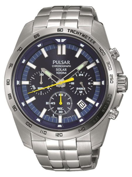 Pulsar Logo Watch