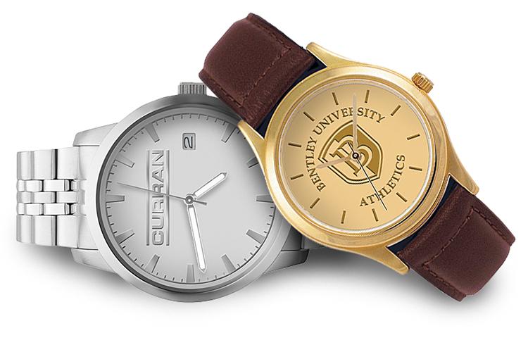 medallion logo watches