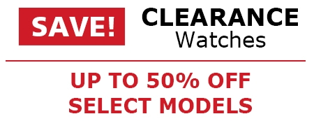 CLEARANCE WATCHES