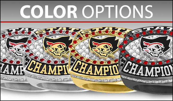 Championship Ring Color Options